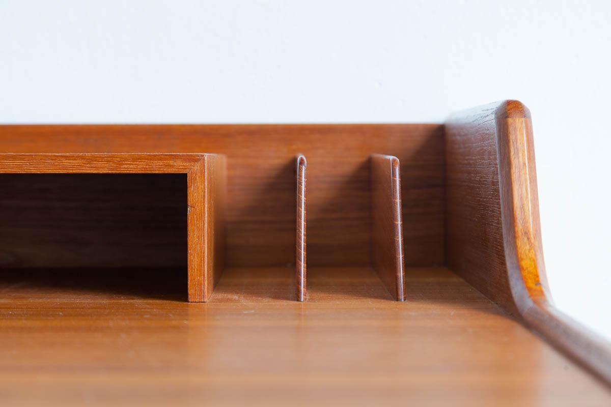 Schreibtisch, Teak, 60er, Arne Wahl Iversen