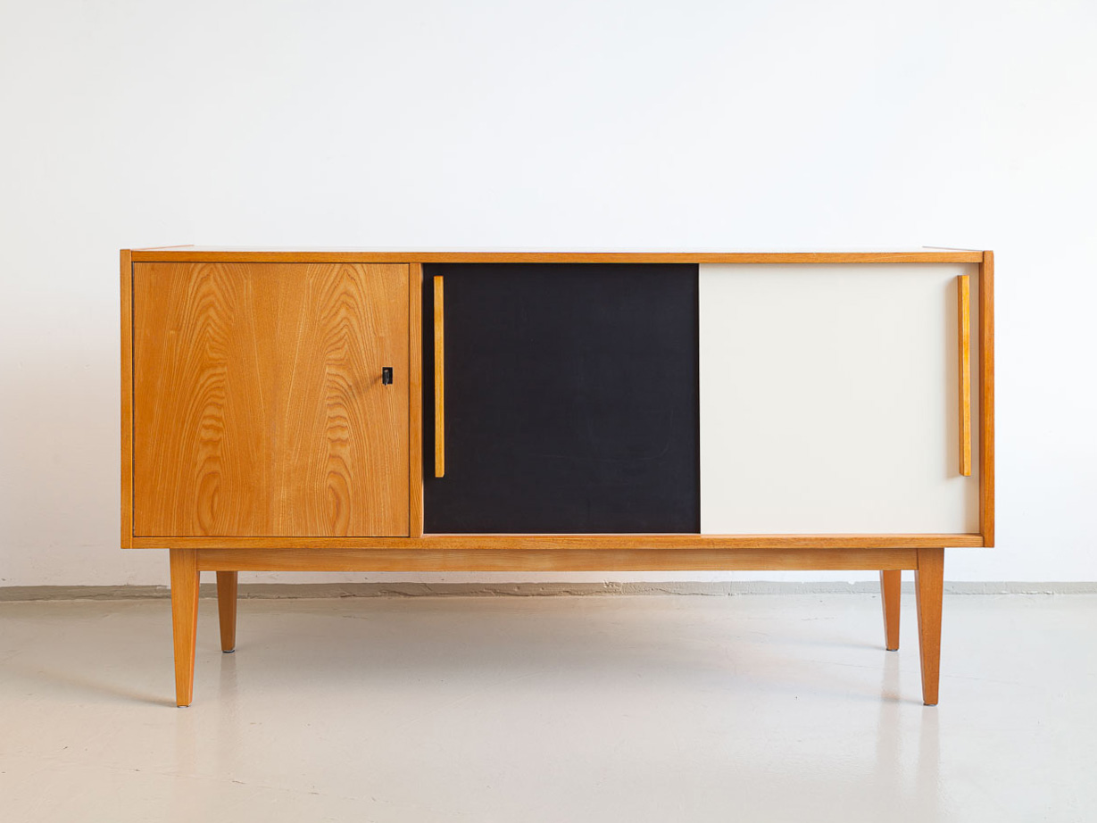 Arno Vodder, Palisander Schreibtisch, Sibast 60er Jahre