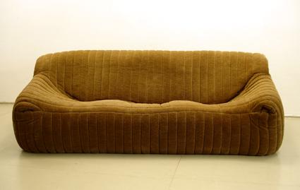 Hersteller: Cinna, Frankreich Modell: Sandra Entwurf: 1977. Dieses Cinna  Sofa Hat, ähnlich Dem Togo Sofa Von Ligne Roset Einen Vollschaumstoffkern.